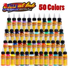 Заводская Цена татуировки что так долго не подает чернила 30мл 50 Цвет пигмента для перманентного макияжа