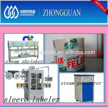 Automatic Bottle Sticker Labeling Machine / Machinery