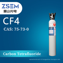 Carbon Tetrafluoride CAS: 75-73-0 CF4 High Purity 99.999% 5N For Microelectronics Industry