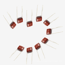 Top Sell 2016 Topmay Electronics condensador de película de poliéster metalizado para lavadora Mkt 0.22UF