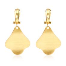 Gold Earrings for Female 2017 New Design Fashion Gold Earrings