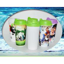 Plastikreisebecher, Sublimationssportflasche, Plastikwasserflasche