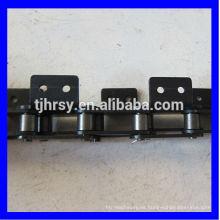 C2050 cadena de rodillos transportadores de doble paso con fijación A2