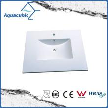 Polymarble White Banheiro Pia e Varanda Vanity Top Acb0813