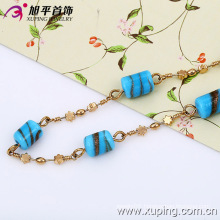 Xuping Fashion Multicolor with Cylinder Adornment Necklace (42466)