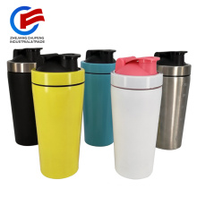 Metal Shaker Bottle Mixer Protein Shaker Fitness Bottle for Gym