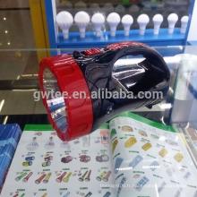 Fabriqué en Chine lampe torche chasseur rechargeable à chaud