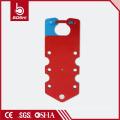 BOSHI BD-K53 Aluminum Lockout Hasp with 7 Holes, Write-On Labeled Hasp