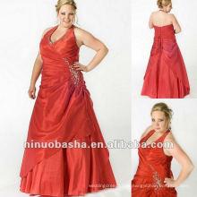 Halter Top Taft mit Perlen Abendkleid 2012
