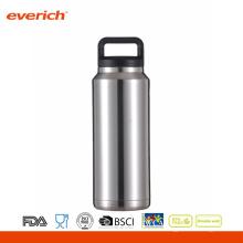 Botella de agua vendedora caliente del deporte del vacío del acero inoxidable