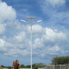 Réverbères solaires à double bras 36W, 40W, 50W, 60W, lampe LED