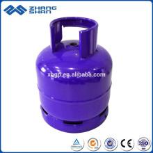 Arabie Saoudite Cylindre en acier au gaz GPL de 3 kg à bas prix