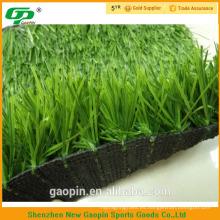 anti UV largo dos colores PE hierba artificial para fútbol