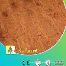 Household 12.3mm High Gloss Maple Waxed Edged Laminated Floor