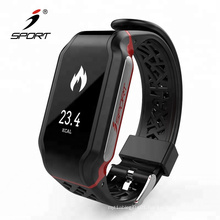 Smart heart rate monitor watch with blood pressure monitor