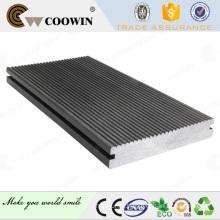 Solid groove bule grey terrace floor tile decking composite
