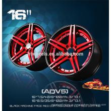 Jantes de roda de liga de réplica rotiforme de 16 polegadas 16 * 5