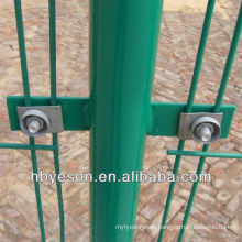 2x2 pvc coated welded wire mesh panel fence