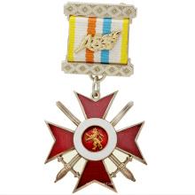 Custom Antique Classic Metal Knights Templar Medal