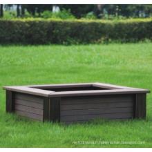 High Quanlity Wood Plastic Composite / WPC Flower Box610 * 610 * 220