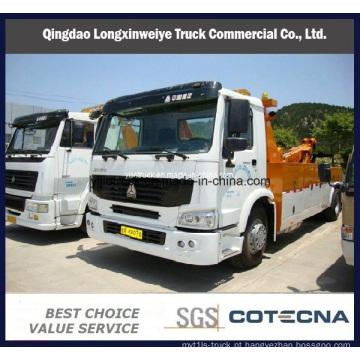 Pesados HOWO 4x2 8 ton resgate estrada caminhão guincho reboque