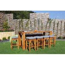 Best selling Wicker PE Rattan Large Bar Sets Garden for Outdoor Furniture
