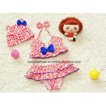 Red Little Girls Kids Colorful Swimwear