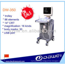 trolley full digital ultrasound with 14 inch CRT screen