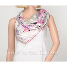 полиэстер напечатаны треугольник 705-03 шарф HB018