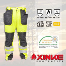 Xinke Protective reflective flame retardant pants for safty equipment