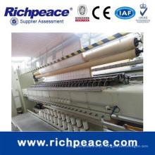 Máquina de acolchoar rotativa de gancho rotativo 2000RPM multi-Head para colcha e colchão