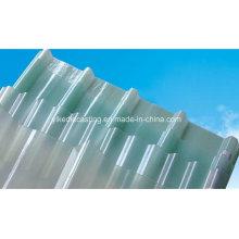 Hoja duradera de techo de fibra de vidrio Opal, FRP