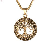 Árvore Cristã Da Vida Colar De Pingente De Bronze
