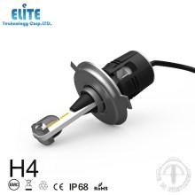 CE Rohs aprovação duplo feixe b6 luz da frente da lâmpada do carro h4 levou lâmpada do farol