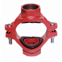 Ductile Iron Saddle with Two Branches