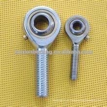 Rolamento auto-lubrificante de haste de aço inoxidável tendo rolamento esférico liso