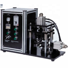 18650/26650/32650 cylinder cell case grooving machine for battery lab equipment