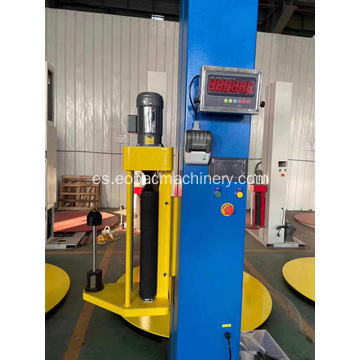 Pallet Stretch Wrap Machine con escala