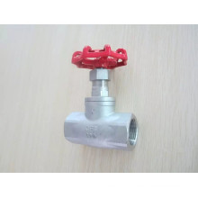 Stainless steel Female Thread End 200wog Globe Valve with NPT/Bsp (J11)