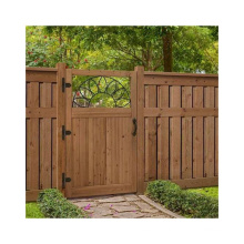 Cheap Price WPC Garden Fence Wood Plastic Composite Fence
