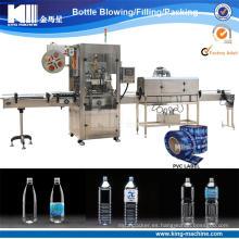 Máquina de etiquetado de la manga del encogimiento del PVC para las botellas