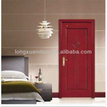 Diseños de puerta de madera de dormitorio personalizado de fábrica