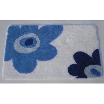 Estera de baño textil, alfombra de baño de Chennile, estera de baño de fibras acrílicas, estera de impresión
