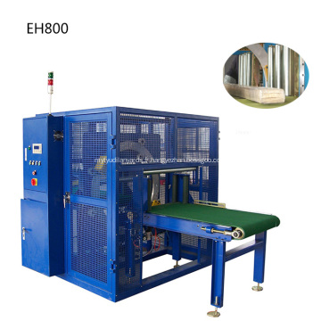 Machine d'emballage extensible horizontale de machine à anneau rotatif