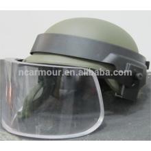 NIJ IIIA bullet proof helmet visor
