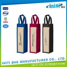 Винные сумки burlap для продажи по оптовым ценам