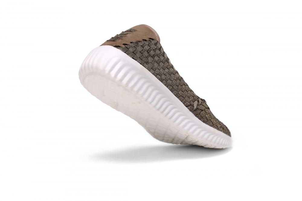 Lightweight Damping Casual Woven Pumps