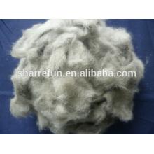 Chine Dehaired et cardé fibre de laine de vison 14.5mic / 12mm avec le prix usine