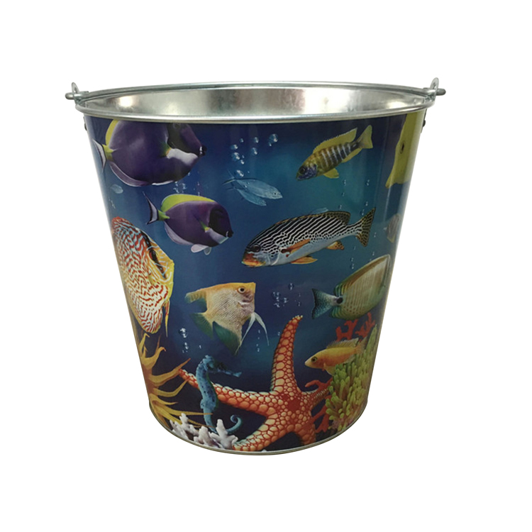 Garden Bucket with Fancy Printing