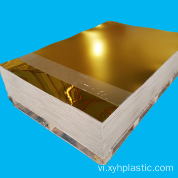 Golden Silver Mirror Acrylic Board dày 2 mm